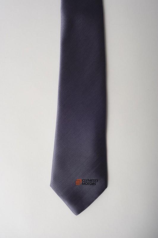 Cravates publicitaires personnalisées - cravate publicitaire, polyester, (force de vente)