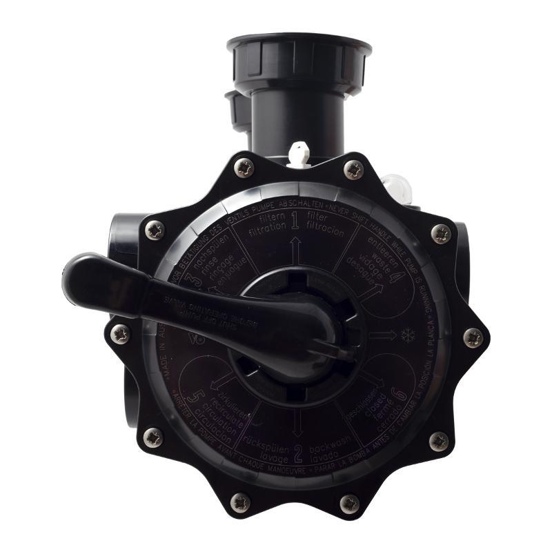 6-Way Backwash Valve - V6 Side Mount, 7 positions