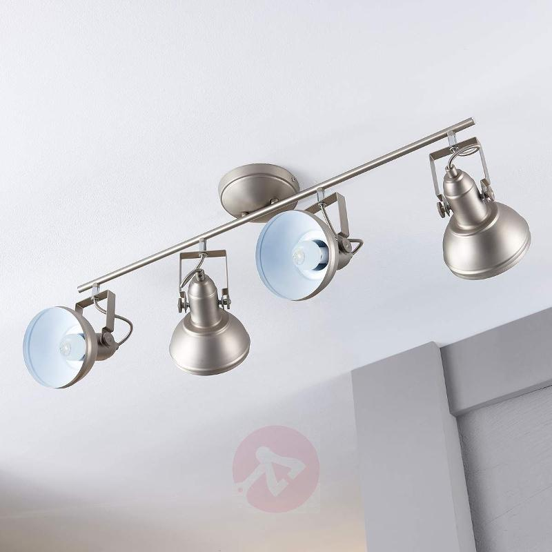 Nickel-coloured LED kitchen light Tameo - Ceiling Lights