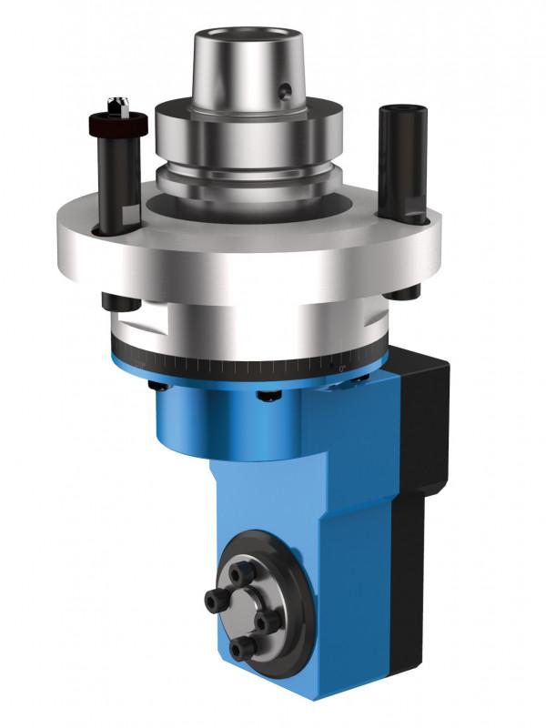 Corner notching unit ANGULO - CNC unit for machining of wood, composites and aluminium