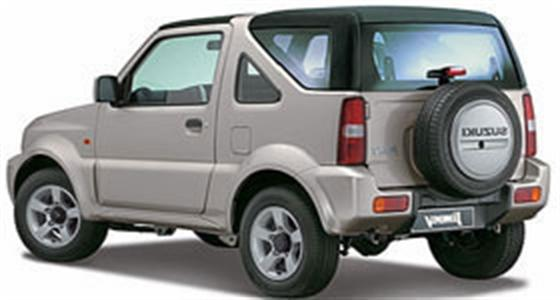 JEEP RENTAL  - All rental vehicles come with Air Condition and Radio CD