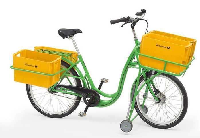 Transportfahrrad Lastenrad Fahrrad Postrad