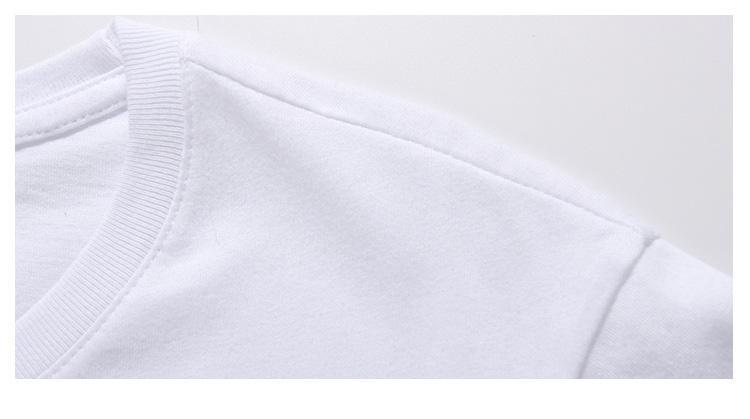 Men's round neck T-shirt - blank T-shirt, round neck