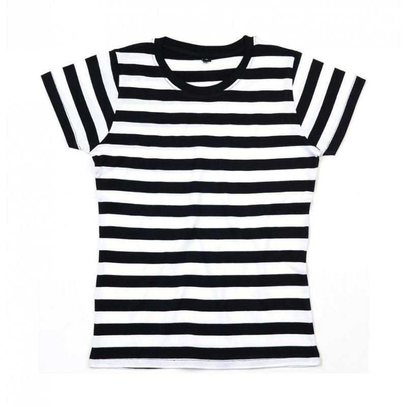 Tee-shirt femme rayé - Manches courtes