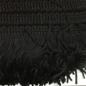 Frange (Viscose - 5 cm - Noir) - Rubans