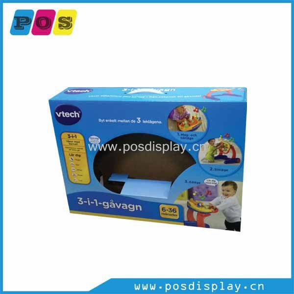 Retail corrugated package box