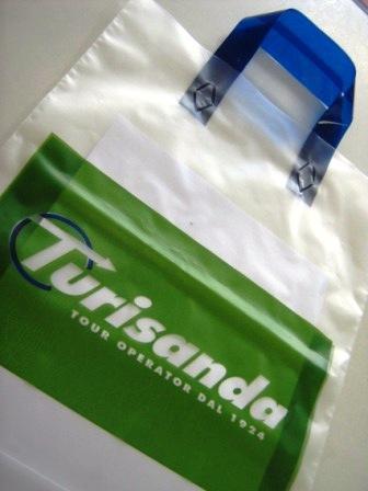 Sacchetti plastica personalizzati - Sacchetti personalizzati
