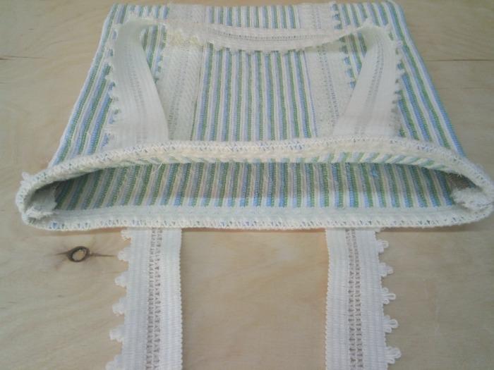 Handwoven designer  tote  bag. - 100% handmade! Eco style!