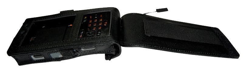Casio IT-800 WWAN Ledertasche mit Gürtelclip - 19-071732-01 - Holster + Taschen