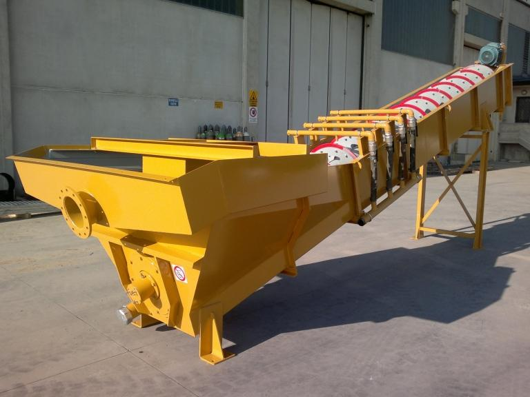 Sand washing and recovery - LSC SCREW RECOVERY SYSTEM
