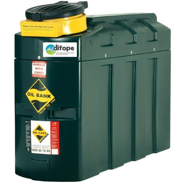 Cuves collecteurs d'huiles usagées - 1003 L - CDPHU1000H Cuves de stockage et stations de distribution de carburant