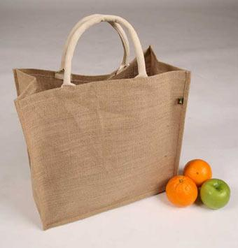 Jute Grocery Bag - Jute Shopping Bags, Custom Jute Grocery Bag, Burlap Bags
