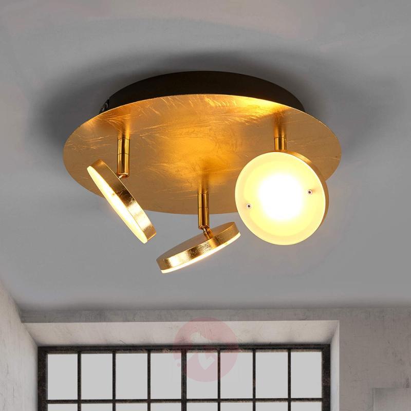 LED ceiling lamp Tina w. 3 pivotable reflectors - indoor-lighting