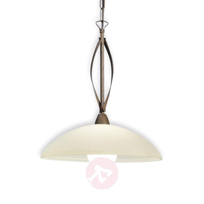 Quebec one-bulb hanging light - design-hotel-lighting