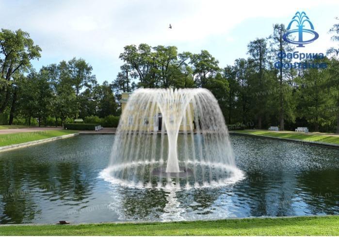 La fontaine flottante pour le bassin de retenue -