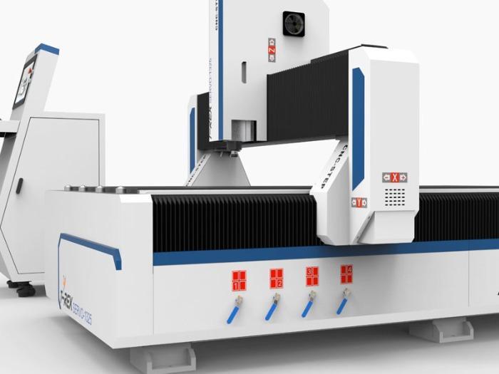 CNC Milling Machine T-Rex Servo-1325 - Servo motors milling machine with extensive accessories