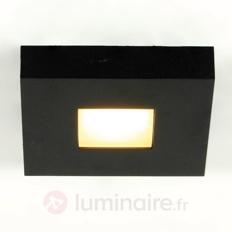 Plafonnier LED Cubus en noir - Plafonniers LED