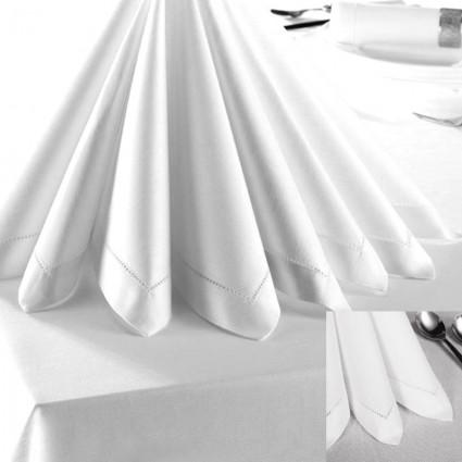 Linge de table : nappes et serviettes - Serviette de table CATHY 50/50 cm