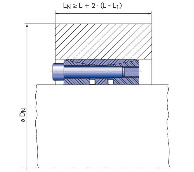 Locking Assembly for bending loads - RfN 7515