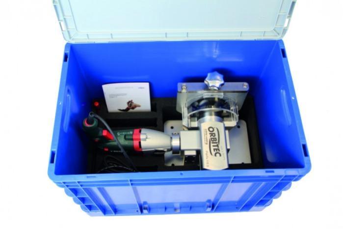 Tube squaring system Planfix 115 S - Tube squaring system for preparation for orbital welding -Planfix 115 S, Orbitec