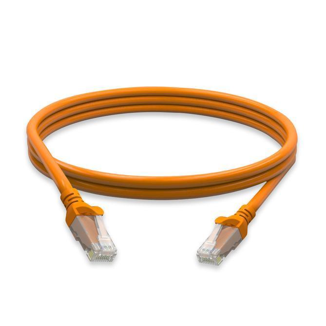 Cat6 Molded Boot 24 Awg Pvc 1ft Ethernet Network - null