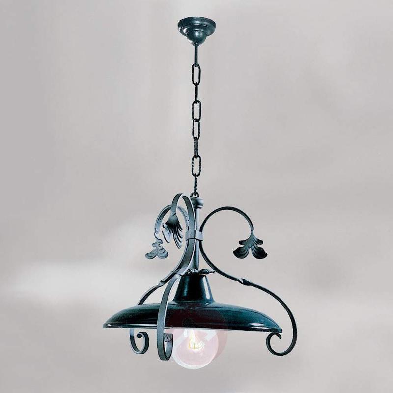 Wrought-iron hanging light Pagoda - Pendant Lighting