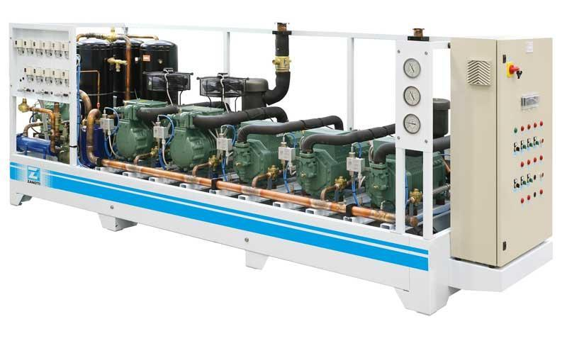 Systems for Refrigeration - Multicompressor Units