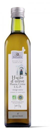 Huile d'olive vierge extra de GRECE I.G.P. Hania Crète - Produits oléicoles