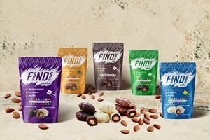 Glazed dates with almond, Milk, 150g - FINDI