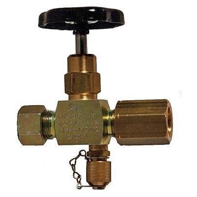Gauges / Thermometers and Accessories - Manometer shut off valve MAVO/MAVM