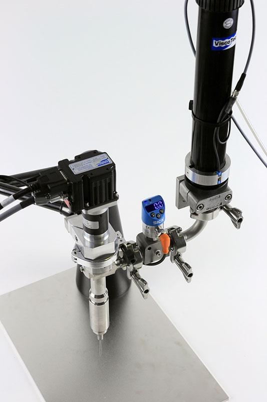 Cartridge emptying ViscoMT-C / 180 ml, 310 ml - Eurocartridges, 600 ml, 950 ml / media supply to dispenser
