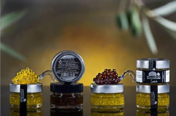 Esferas de Aceite o de Vinagres - Esferas de aceite o de Vinagre con aspecto a Caviar