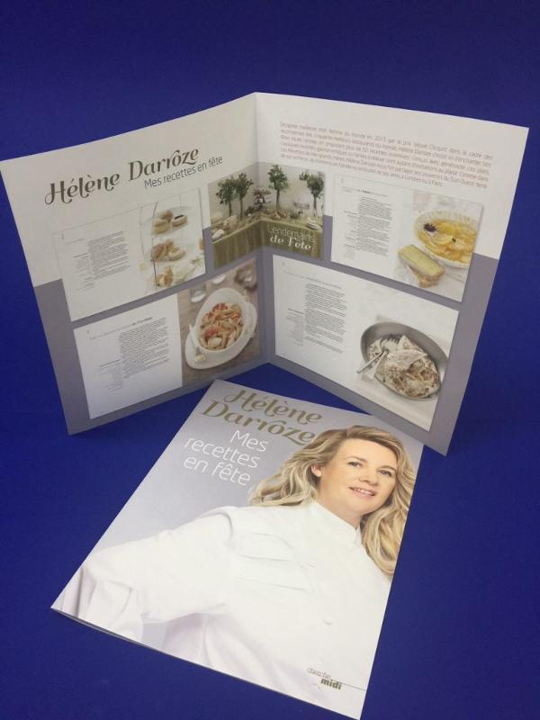 Impression de brochure - Réalisation du Portfolio