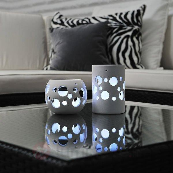 Photophore solaire NEW GENOVA LED - Lampes solaires décoratives
