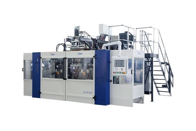 Pharmaceutical Pesticide Blow Molding Machine Cases - Pesticide Bottle Blowing Machine B15D-560(2 Stations 4 Cavities)