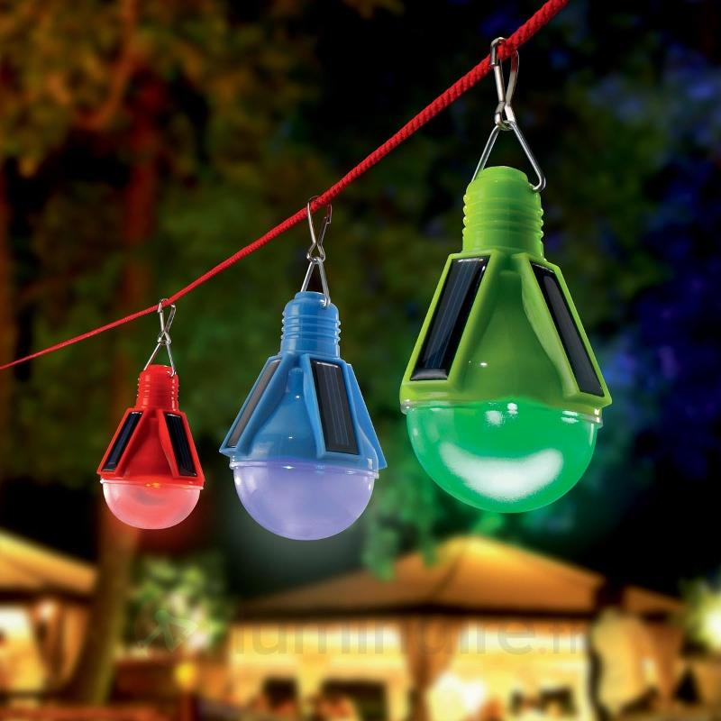 Set de 3 lampes LED solaires décoratives Partytime - Lampes solaires décoratives