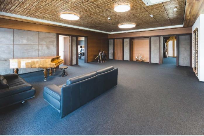 Decorative ceilings, walls and doors -