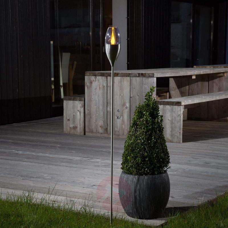 Jari atmospheric solar-operated garden light - Decorative Solar Lights
