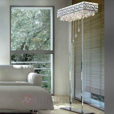 Somptueux lampadaire à pampilles MAGMA - Lampadaires design
