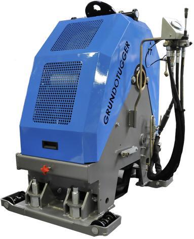 Hydraulic cable pulling unit  - GRUNDOTUGGER 250