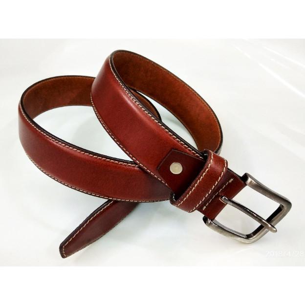 English leather belt - English leather grain belt for men