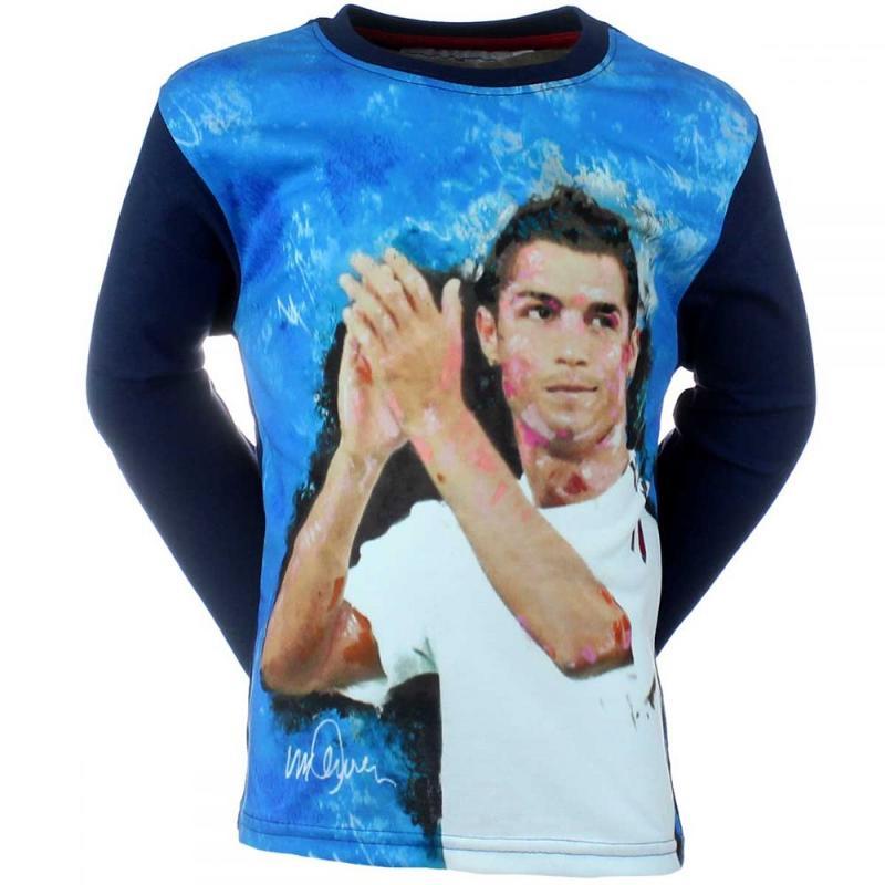 5x T-shirts manches longues CR85 du 4 au 12 ans - T-shirt et polo manches longues