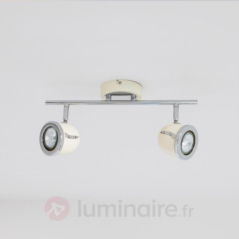 Applique et plafonnier Halena, à deux lampes - Tous les spots et projecteurs