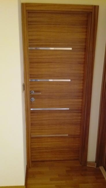 Veneered doors -