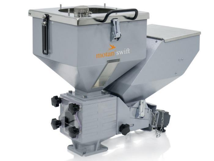 Unidade de dosagem e mistura volumétrica - MINICOLOR swift V - Passível de ser montado com economia de espaço com elevada precisão