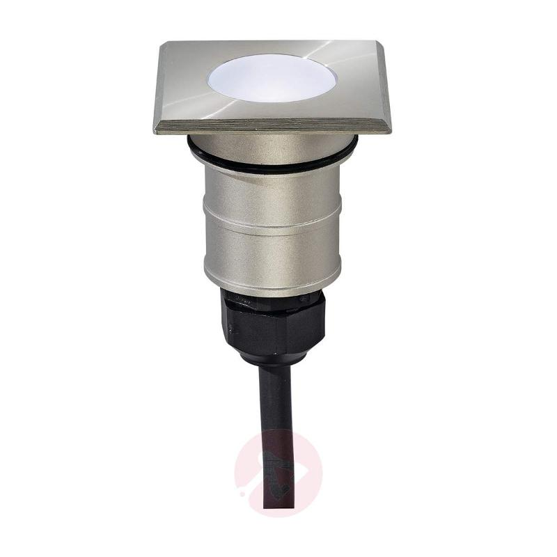 POWER TRAIL-LITE Square LED In-ground Lamp 1W IP67 - Recessed Floor Lights