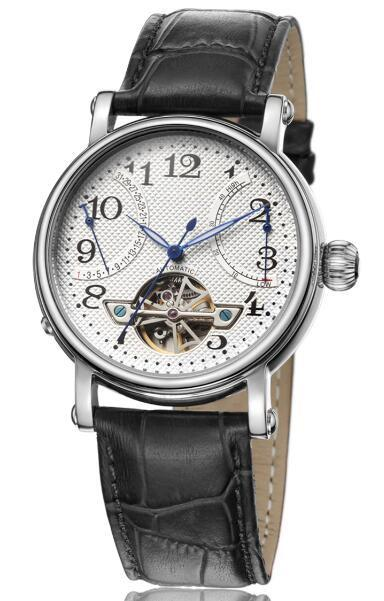 mechanical watch GCS13020 in Russia - beautiful artistic dial design with number round mechanical watch manufacturer