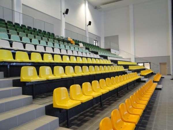 Stadium seating WO-06 - Bucket plastic stadium grandstand seating chair