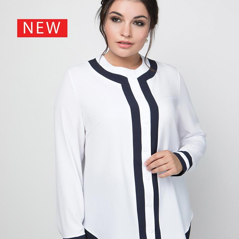 Женская рубашка - Большие размеры