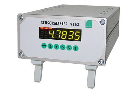 Sensormaster - 9163 - For Force, torque, pressure, process, potentiometer, norm signals, Pt100 and TC